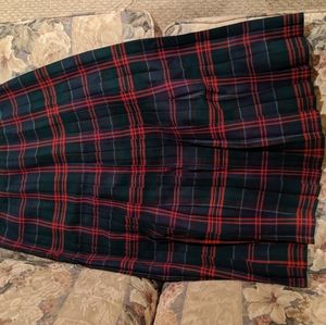 Aljean of Canada Skirts - Pure wool tartan skirt